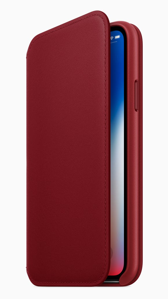 iPhone X (PRODUCT)RED folio case