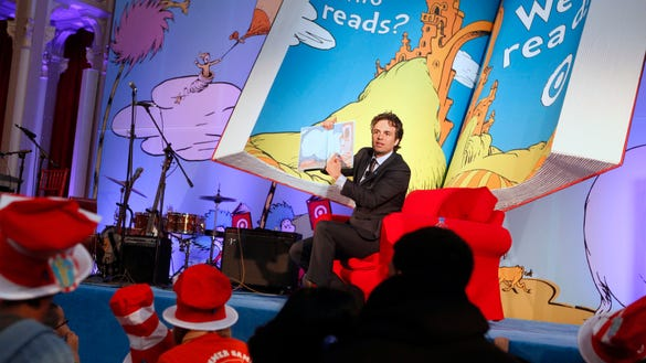 AP TARGET READ ACROSS AMERICA LAUNCH EVENT AT THE NEW YORK PUBLIC L A CPACOM USA NY