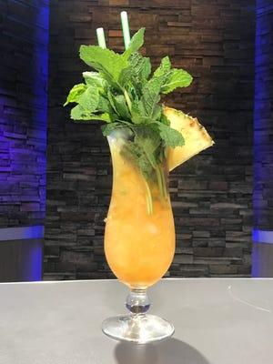 Jon Swan's Random Tiki Cocktail is rum forward, to say the least.