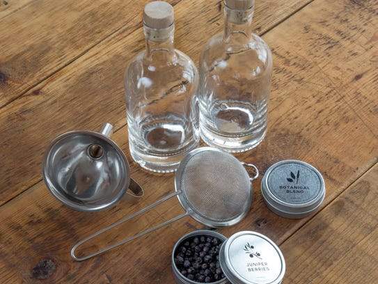 The Homemade Gin Kit.