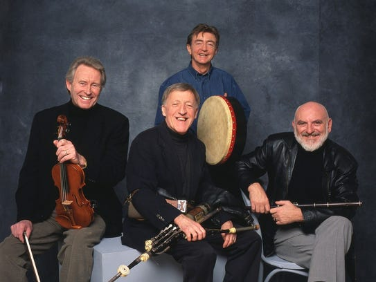 The Chieftans will be in Phoenix, Feb. 27, 2018.
