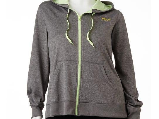 A FILA Hooded Fleece-Lined Jacket from Kohl's.