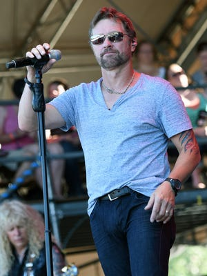 Singer/Songwriter Craig Morgan performs during 20th. Anniversaty of Kicker Country Stampede Manhattan in 2015.