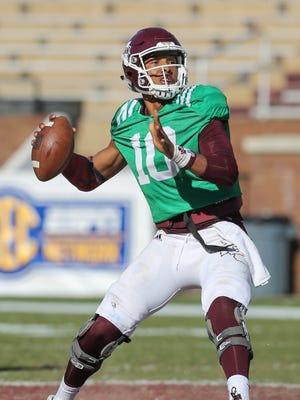 True freshman Keytaon Thompson is MSU's unquestioned backup quarterback.