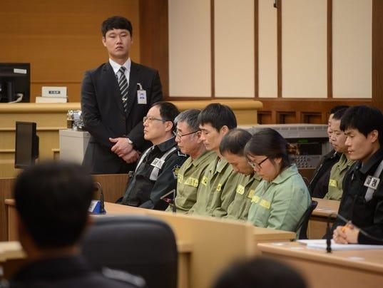 South Korea ferry trial