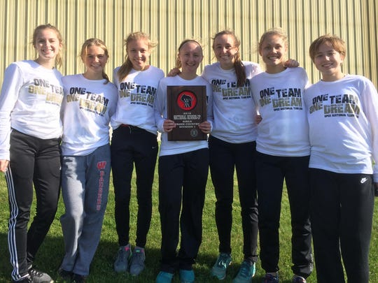 The De Pere girls cross-country team finished as the runner-up Saturday at the WIAA Division 1 sectional held at Meadow Links Golf Course in Manitowoc to advance to state for the first time in school history.
