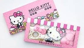 Hello Kitty cookies will be among the prepared-food items available when the Hello Kitty Cafe Truck appears July 8 in Oxnard.