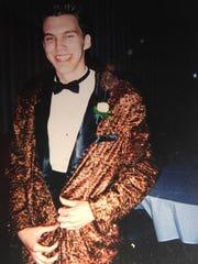 Forest Juziuk, Port Huron High School prom, 1998