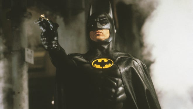 "Michael Keaton starred as Batman for director Tim Burton in both ""Batman (1989, pictured) and 1992's ""Batman Returns."""