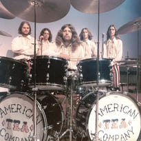 The American Tea Company band as they appeared in the 1970s.