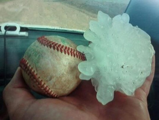 baseball-hail