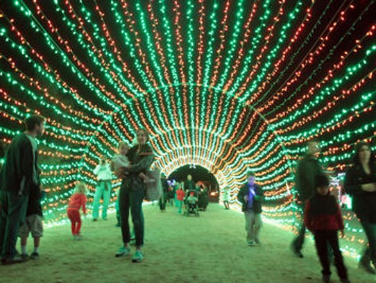 The WildLights at The LIving Desert are among the activities