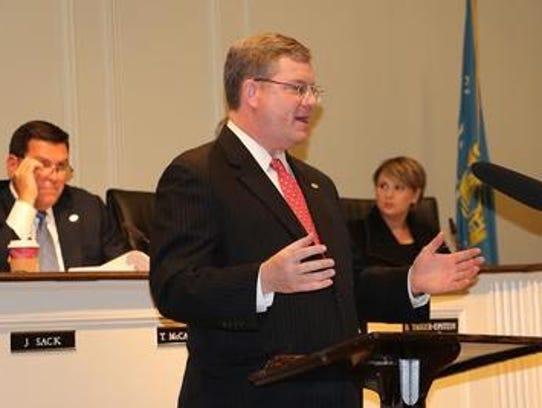 Rye Mayor Joe Sack