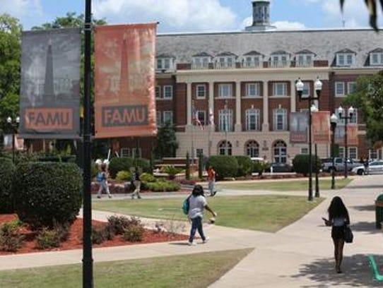 Florida A&M University campus.