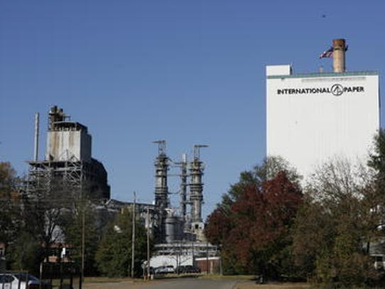 This file photo shows the Louisiana Mill before it
