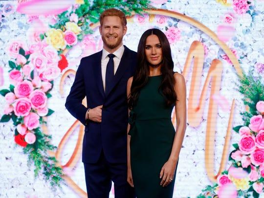 El Príncipe Harris y su prometida ya tienen sus figuras