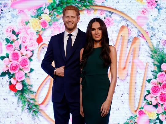 El Príncipe Harris y su prometida ya tienen sus figuras de cera.
