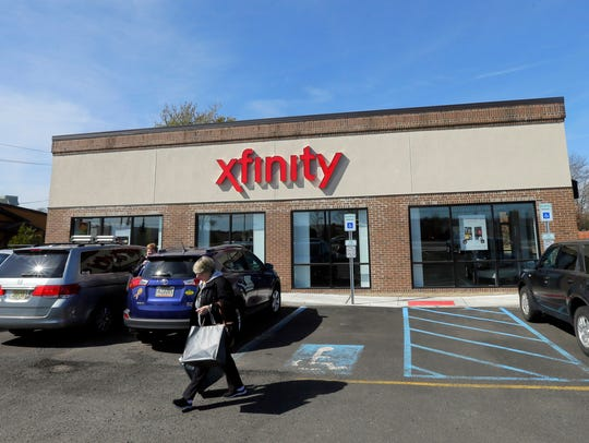 Exterior of the new Comcast Xfinity store on Hooper