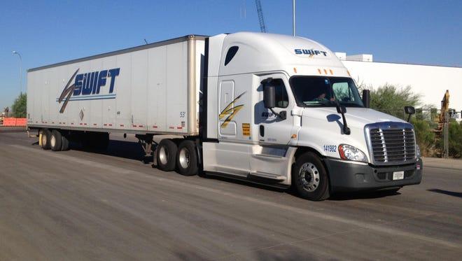 The I-10 bridge collapse in the California desert reveals the importance of trucking to Arizona's economy.