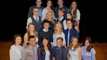 Limited Edition, a 17-member group from the Port Washington-Saukville School District, won the contest to open for Vocalosity at the Weidner Center.
