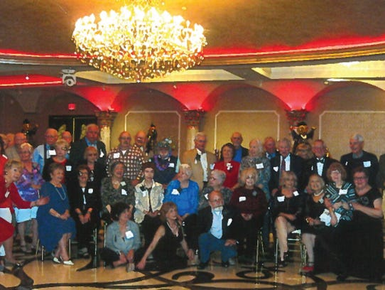 The Perth Amboy High School Class of 1958 held their 60th class reunion on April 8 at the Grand Marquis in Old Bridge.
