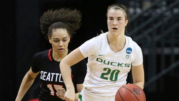 Oregon Ducks women advance in NCAA behind Sabrina Ionescu's triple-double