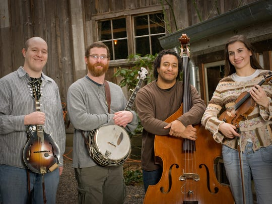 Take in a night of newgrass music with the Student Loan String Band on Aug. 12.