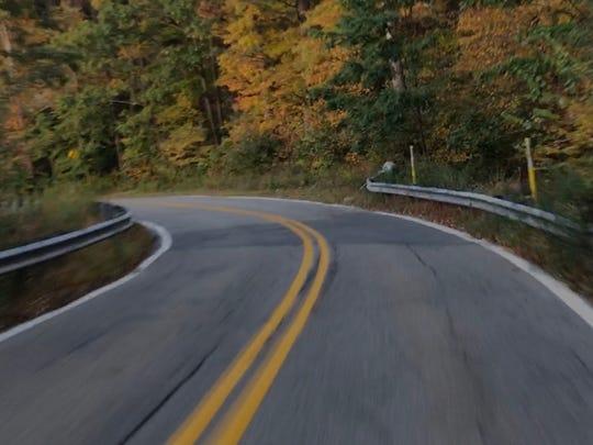 Clinton Road in West Milford, N.J.