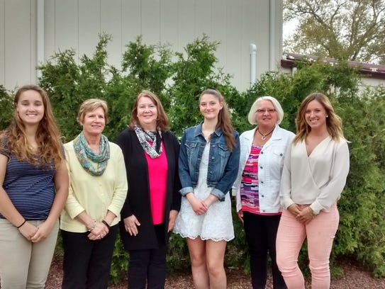 Lakeshore Business and Professional Women awarded three