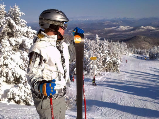 Michael Mackay at Gore Mountain in North Creek, NY.