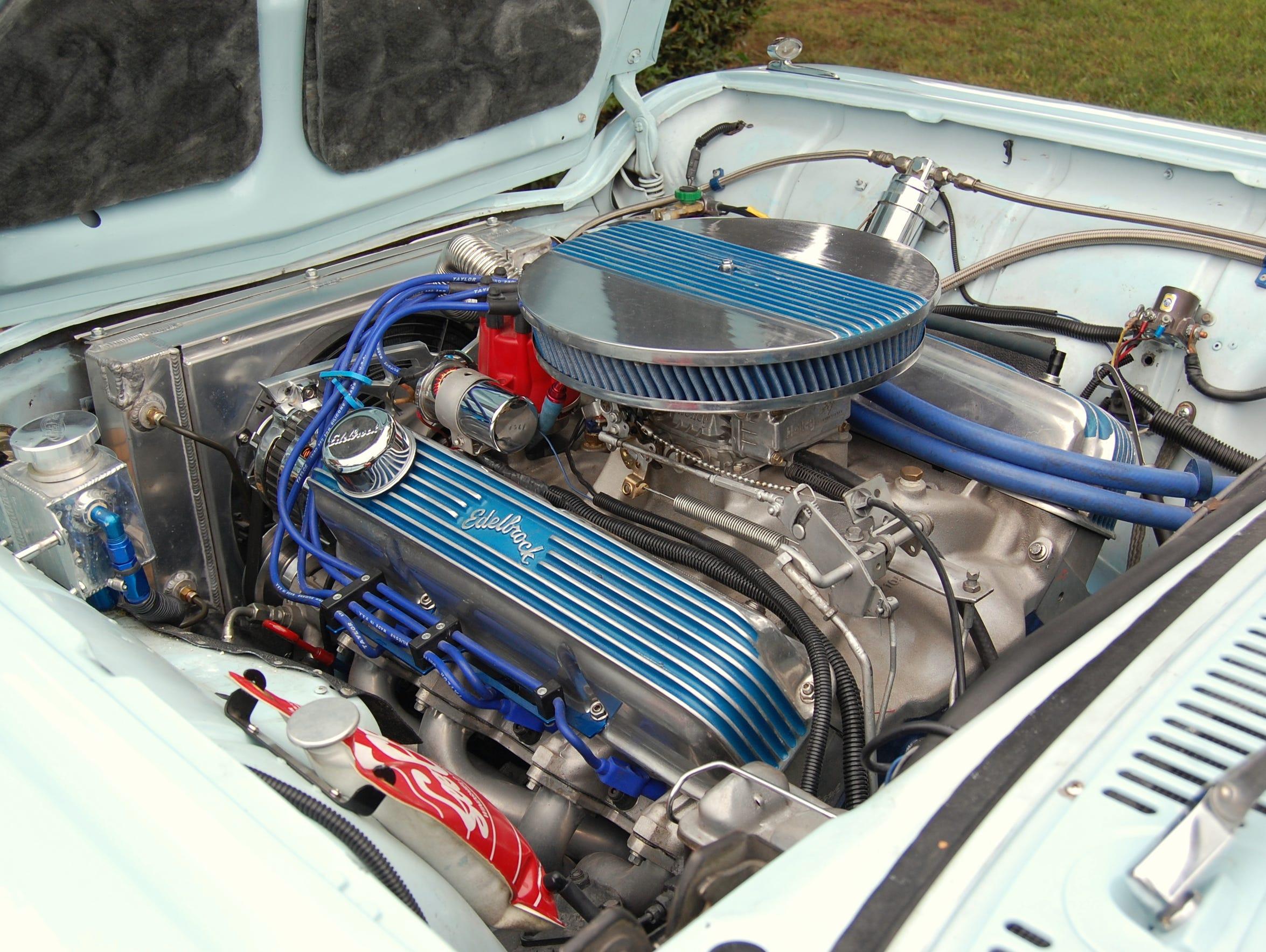 VERNON – The newly installed engine in Baldwin's Thunderbird