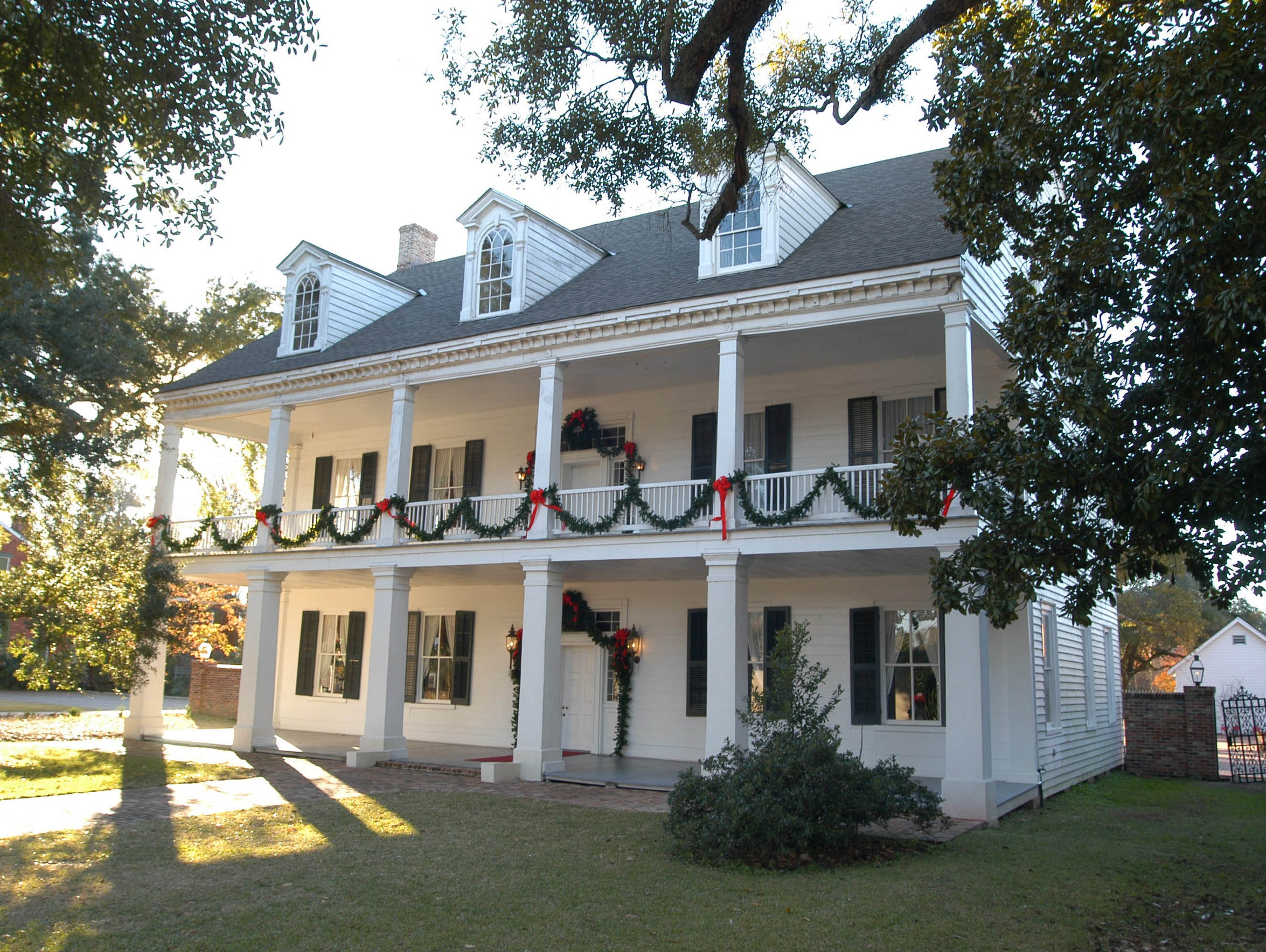 The Prudhomme-Rouquier home is among those on Natchitoches
