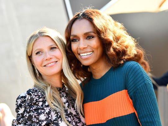 Gwyneth Paltrow and Janet Mock had the most popular