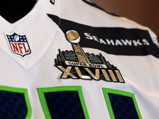 AP Super Bowl Football