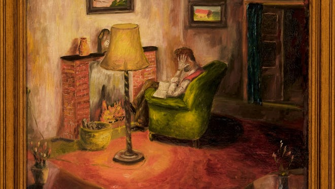 Teenager Heinz Geiringer painted this oil painting while he was hiding from the Nazis in World War II Amsterdam. Found after the war, the paintings is among the art that will be shown Feb. 7-26 at the Knoxville Museum of Art.