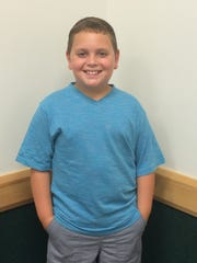 Christopher Epperson won first place in the elementary school category of the Tobacco Free Summer Art Contest.
