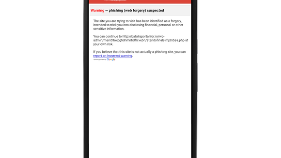 Google adds anti-phishing features to Android app