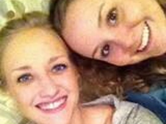 Lauren Wilds, left, who died in 2014 from an overdose,