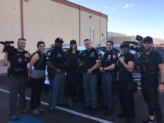"A ""Live PD"" TV show crew rode along and filmed members"