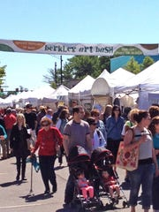 Artisan finds, food and fun will fill five blocks along