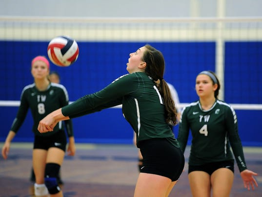 Girls Volleyball: Woodland Conference Tournament