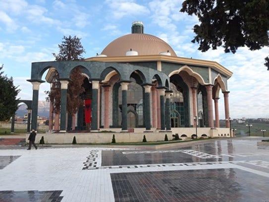 A Bektashi Mosque in Tirana, Albania.