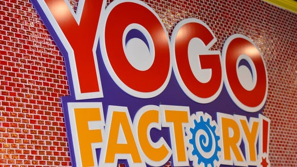 YoGo Factory will open its first Delaware franchise near Newark on Wednesday.