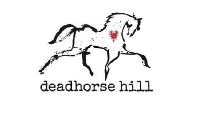 The logo of deadhorse hill restaurant in Worcester.