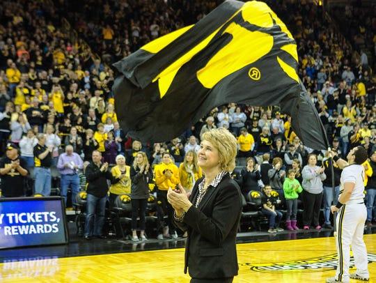 Lisa Bluder has coached at St. Ambrose, Drake and Iowa.