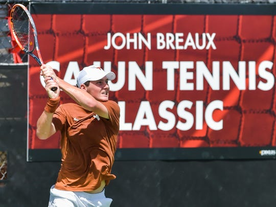 The Louisiana Ragin' Cajuns men's tennis team hosting