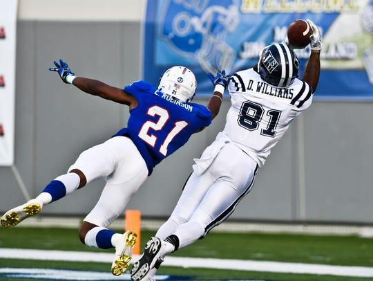 Jackson State University wide receiver Daniel Williams