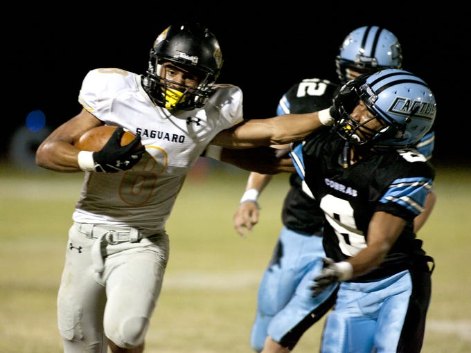 D.J. Foster went from Scottsdale Saguaro High to ASU