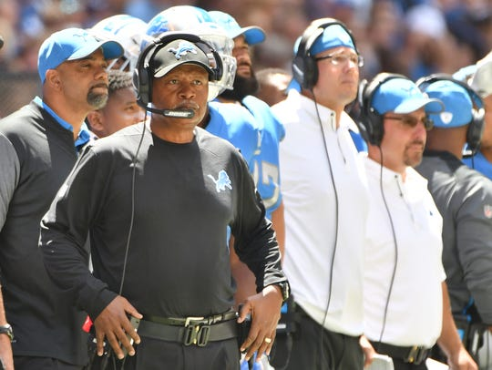 Head coach Jim Caldwell's job appears to be safe, even