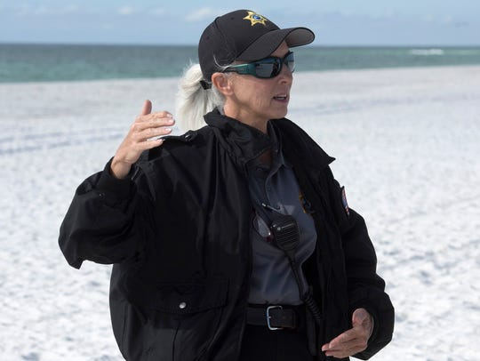 Susan Watson, the new animal control officer for Pensacola